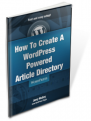 WordPress Article Directory