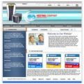 Web Hosting Website Template